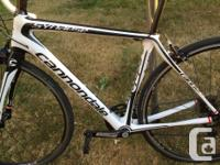 Cannondale Synapse carbon frame road bike - 51cm