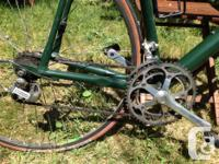 This beautiful old Cannondale is in good condition.