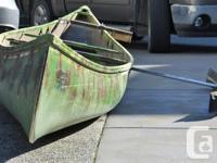 17 ft. fibreglass Scott Adventurer Canoe Does not