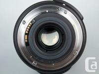 Beautiful 15-85mm lens. Feels like L glass. Very sharp,