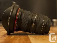 Marketing my Canon 16-35 f/2.8 lens! It's in fantastic