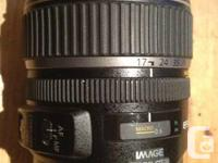 The EF-S 17-85mm f/4 -5.6 IS USM Lens from Canon is a