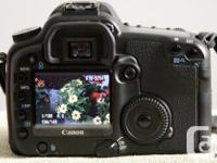 This Canon 30D is an older but still excellent DSLR. It