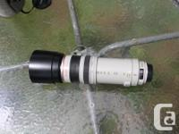 """Two Canon """"L"""" lenses which both work on Canon EF"""