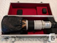 Selling a rugged amazing Canon 500 mm FD lens. It takes