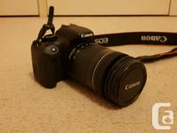 - Canon 550D SLR body ( Black - made in Japan) - Canon