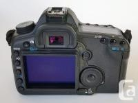 Absolut mint condition Canon Full Frame camera