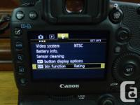The Canon 5D Mark III camera was only unsealed and