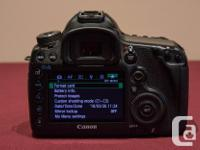 Canon 5D mark III in excellent condition, comes with