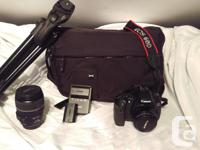 Selling Canon 60D kit. Includes Canon 60D body 2 Lenses
