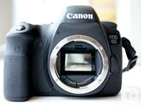 I recently bought a full-frame Canon 6D DSLR camera