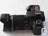 Canon 70D DSLR; Canon 18-135 f3.5-5.6 IS STM; Canon