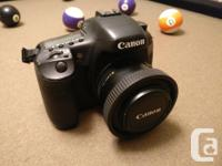 I have a Canon 7D for sale. The body is in good