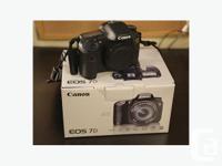 SOLD PENDING PAYMENT - JAN 7 Canon 7d - Semi Pro