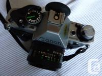 The camera is in near mint cosmetic condition; it has