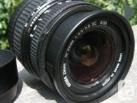 Canon Auto Focus Digital Mount SIGMA 18-50mm f3.5-5.6