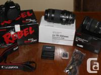 Canon Digital Camera with two lenses -- for $950 or