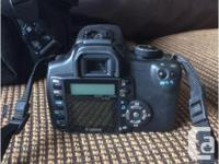 Selling my Canon Digital Rebel XT camera package and