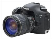 Canon EOS 7D DSLR camera - $800 (body only, in box with