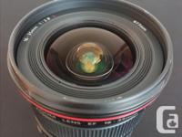 Note: The Canon EF 16-35mm f/2.8L USM Lens has been