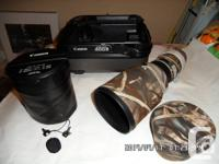 Selling 400mm f/4L DO IS lens. Lens is good shape with