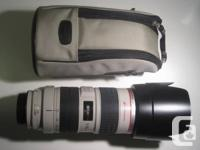 Mint condition Canon EF 70-200mm f/2.8 L IS USM Mark I