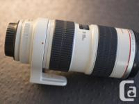Canon EF 70-200mm f/2.8L IS USM lens Complete with