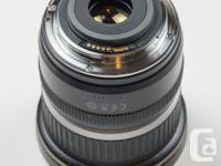 Canon's best ultra wide-angle zoom lens for APS-C