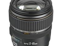 Canon EF-S 17-85mm f/4-5.6 IS USM This EF-S lens brings