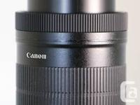 Canon EF-S 18-135mm f/3.5 -5.6 IS for plug and play use