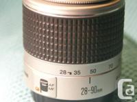 Canon EF series lens. Fits DIGITAL AND FILM!! Like new