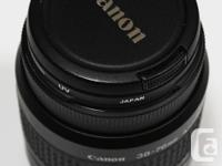 These are Canon EF Zoom Lens 38-76mm Made in Japan in