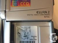Canon Elura 2 Mini DV Camcorder, progressive scan 3CCD,