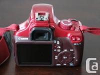 I am selling my Canon 1100D which is the same as the