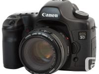 Canon EOS 5D 12.8 MP Digital SLR Camera with 28-80