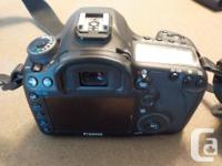 Canon EOS 5D III mint condition, original owner 24,400