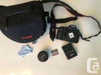 Canon EOS 7D DSLR / Digital Camera package! Everything