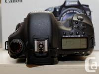 I have a Canon 7D for sale with Canon BG-E7 Grip, and a