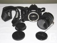 Hello all! I'm selling my digital SLR camera as