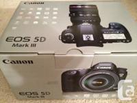 The Canon EOS 5D Mark III 22.3 MP Digital SLR Video for sale  Prince Edward Island