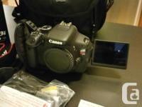 I've decided to sell my Canon T3i KIT as i hardly use