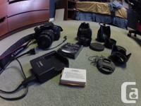 I am selling my Canon EOS Rebel T4i w/ Kit Lens and a