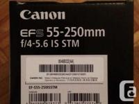 This lens is brand new and came in a package that I