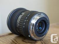 I'm selling two third-party lenses for Canon EOS APS-C