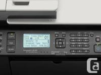 Selling canon laser printer with scanner/copier/fax and