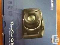 Very good condition Canon Power Shot SX150 IS digital