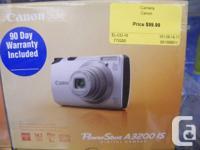 Canon Powershot A3200 IS Camera  Compact digital still