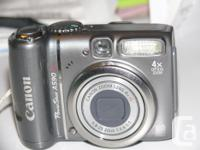 $35.00 *Canon PowerShot A590IS 8MP Digital Pocket