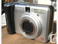 Canon PowerShot A85 Digital Camera in very good
