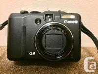 Selling my Canon Powershot G9 camera package for